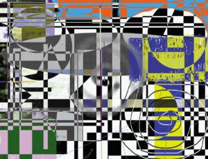 fc 2015 lane Abstract metal print