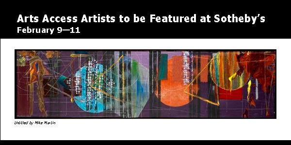 All Upcoming EventsArts Access Artists at Sotheby's